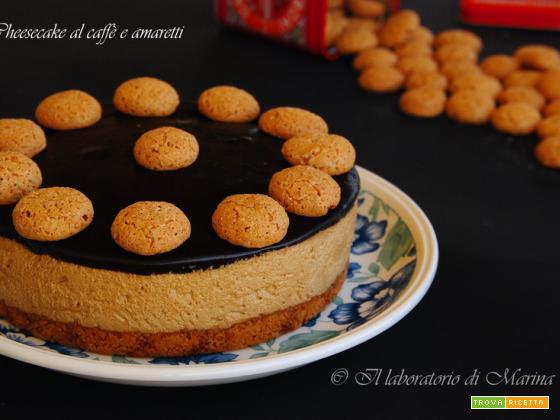 CHEESECAKE AL CAFFE' E AMARETTI