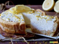 Crostata di Savoiardi al Limone