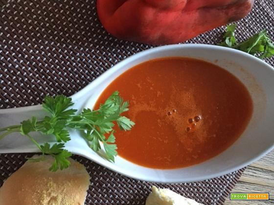 Crema di peperoni e zenzero