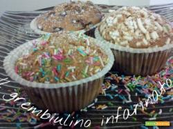 Muffins al caffe' d'orzo