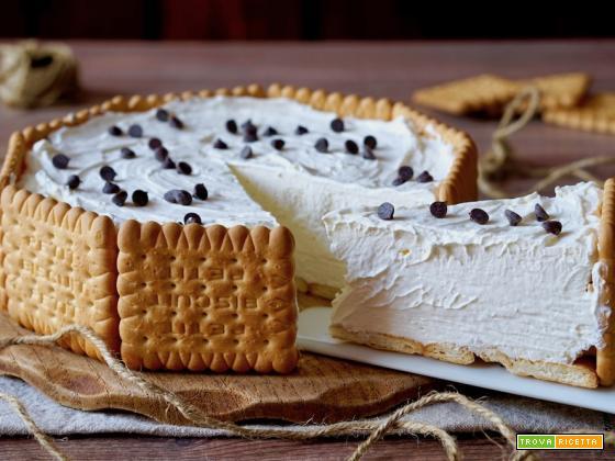 Torta Fredda di Biscotti e Mascarpone