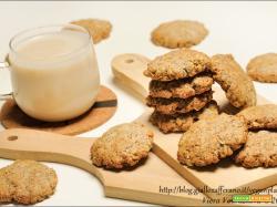 Biscotti d'avena e semi di papavero