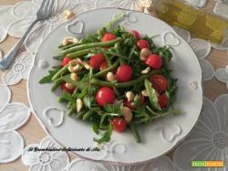 Insalata di fagiolini con anacardi