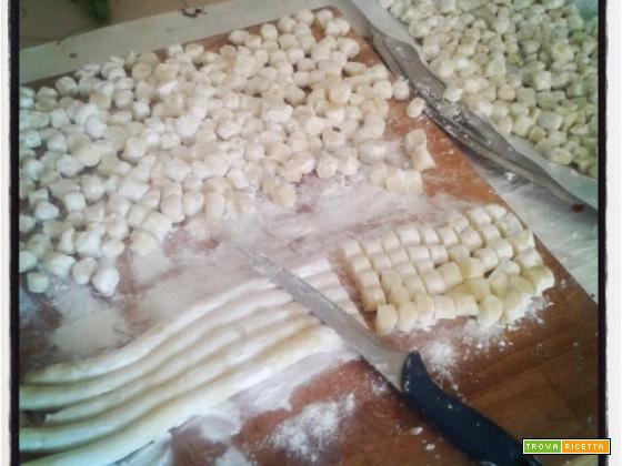 Gnocchi di patate (senza uova)