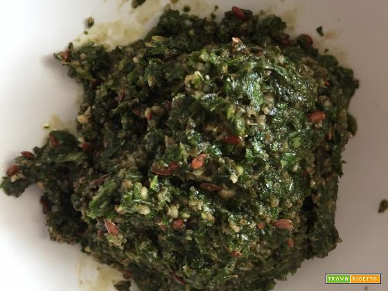 Pesto di basilico alternativo