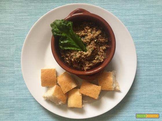 Pesto di melanzane, ricetta vegana