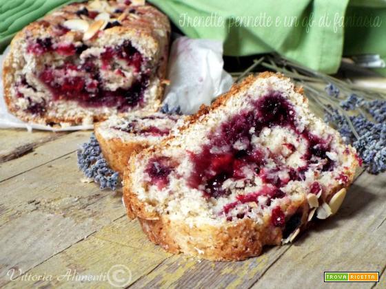 Plumcake di frolla ai frutti rossi