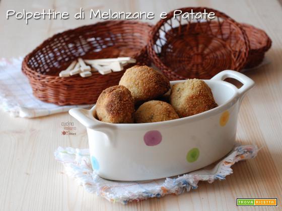 Polpettine di melanzane e patate