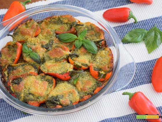 Tian di Peperoncini al Pesto Genovese