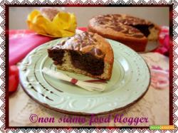 Torta Marmorizzata senza burro, ricetta semplice