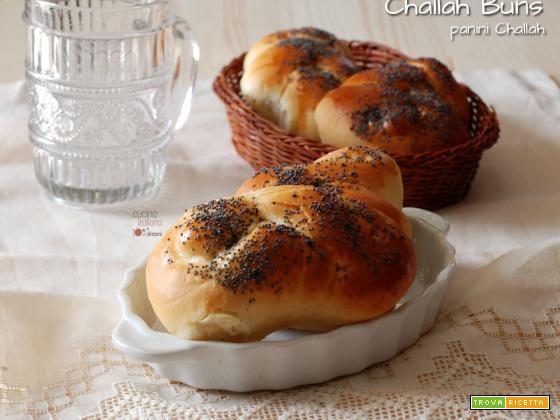 Challah buns (ovvero panini soffici)