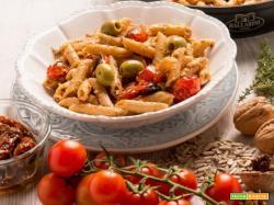Pasta al pesto mediterraneo : un piatto semplice