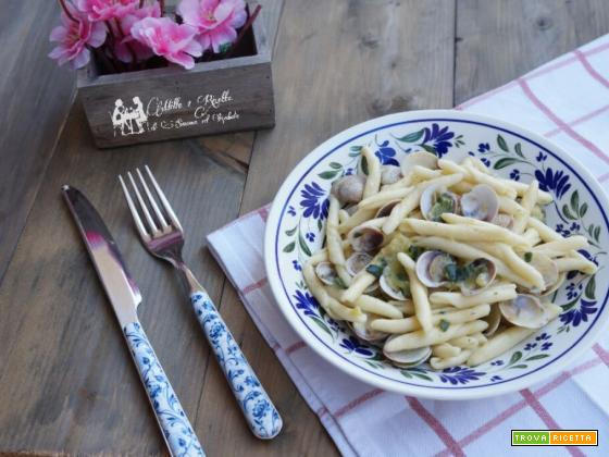 Pasta alle zucchine e vongole