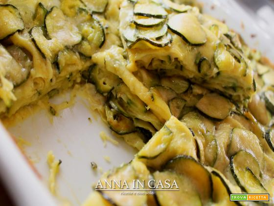 Parmigiana di pasta con zucchine