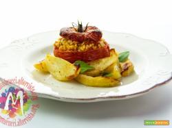 Pomodori ripieni di Riso alla Romana – I Menù del SorRISO