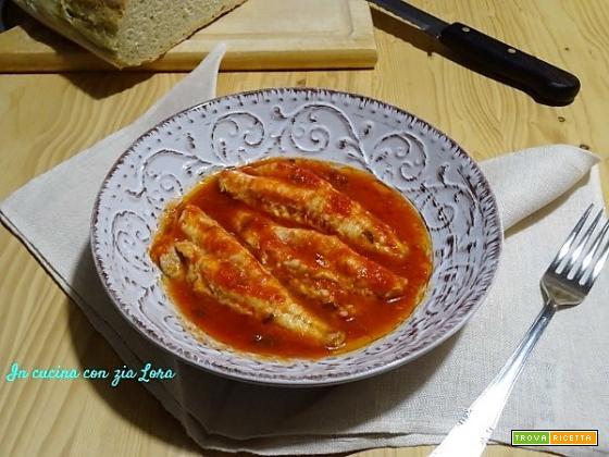 Filetti di gallinella al pomodoro