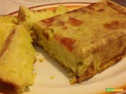 Plumcake alle patate, zucchine e curcuma