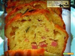 Plumcake Prosciutto e Formaggio Finger Food