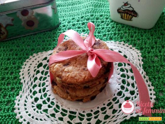 Biscotti al burro di arachidi e cioccolato