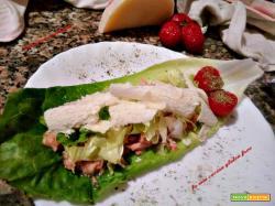 Insalata tonno e parmigiano