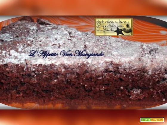 Torta soffice al cacao senza tuorli… con solo albumi…