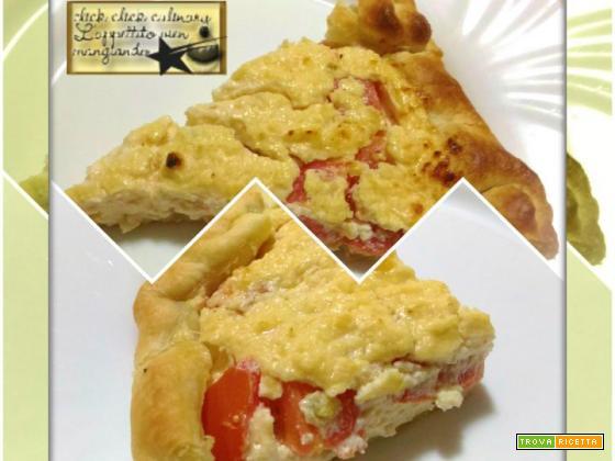 Torta Brisèe Ricotta e Pomodoro Finger food