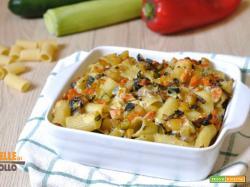 Pasta al forno con verdure e ricotta