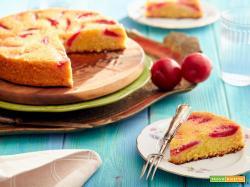 Torta prugne e mandorle