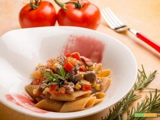 Pennoni con ragù di anatra, un piatto di pasta speciale