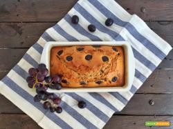 Plumcake con uva e cannella