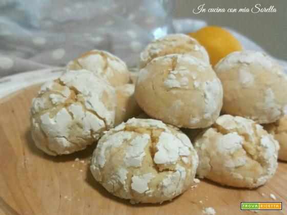 Biscotti al limone – Ricetta per il tea time