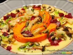 Crema di polenta con profumi d'autunno