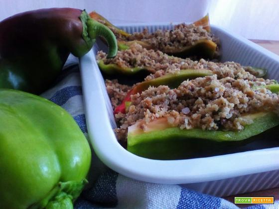 Ricetta con i peperoni: ripieni al forno