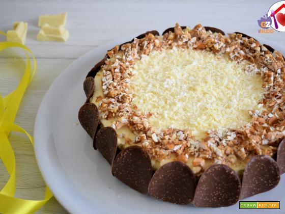 Semifreddo al cioccolato bianco