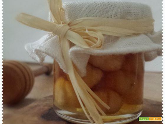 Miele alle nocciole – fatto in casa