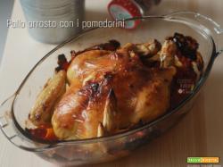 Pollo arrosto al pomodoro
