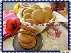 Biscotti Semintegrali al Miele, ricetta senza burro e senza zucchero