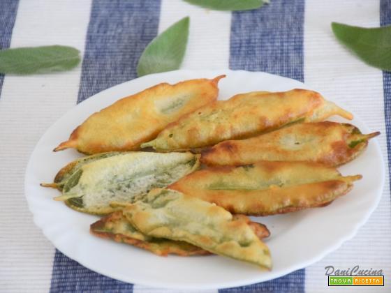 Salvia fritta in Pastella (senza uova)