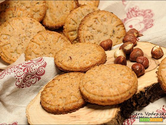 Biscotti di okara di nocciole