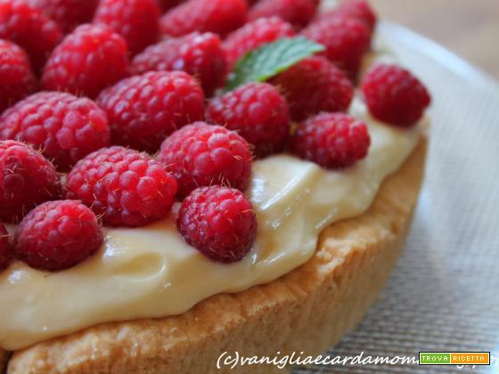 Crostata mascarpone e cioccolato bianco