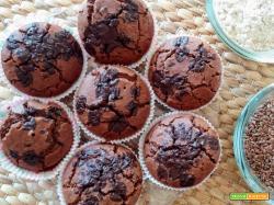Muffin castagne e cioccolato