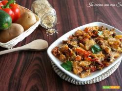 Verdure sabbiose al forno – ricetta contorno sfizioso e semplice