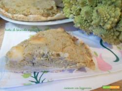 Torta di broccolo romanesco
