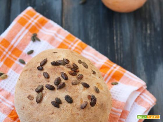 Pane con lievito madre alla zucca