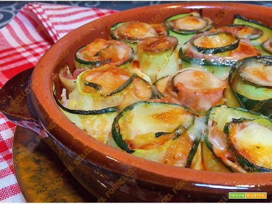 Involtini di zucchina alla pizzaiola