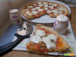 Pizza ai funghi – lievito madre