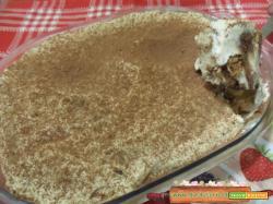 Tiramisu al cioccolato e castagne