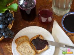 Succo e marmellata d'uva (Suco e geléia de uva)