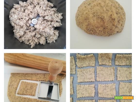 Crackers speziati col Bimby