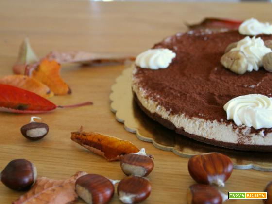 Cheese cake alle castagne